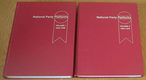 9780252006920: National Party Platforms, 1840-1976 (2-volume set)