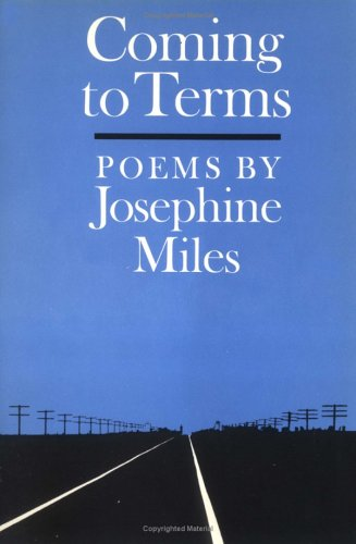 9780252007682: Coming to Terms: POEMS