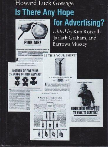 9780252012785: Is There Any Hope For Advertising?