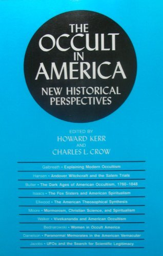 Image result for The Occult in America: New Historical Perspectives