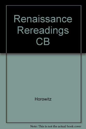 9780252014895: Renaissance Rereadings: Intertext and Context
