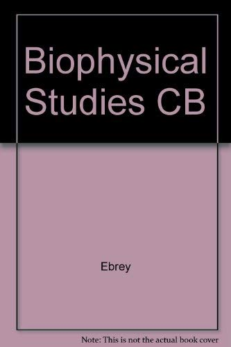 BIOPHYSICAL STUDIES: Thomas G Ebrey,