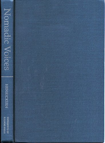 9780252019364: Nomadic Voices: Conrad and the Subject of Narrative