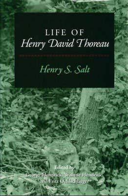 9780252019937: Life of Henry David Thoreau