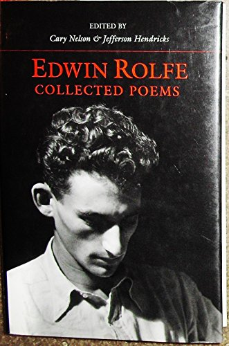 Collected Poems (American Poetry Recovery Series): Edwin Rolfe
