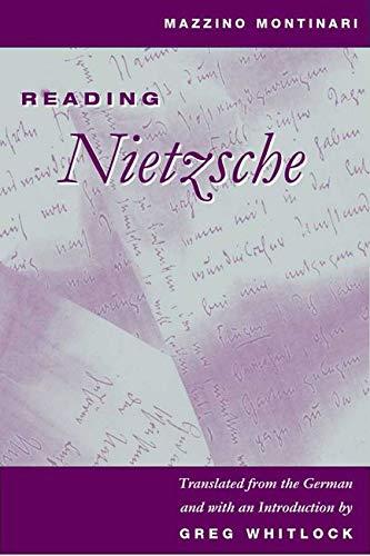 Reading Nietzsche (Hardcover): Mazzino Montinari