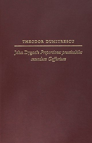 9780252031823: John Dygon's Proportiones practicabiles secundum Gaffurium (Studies in the History of Music Theory and Literature)
