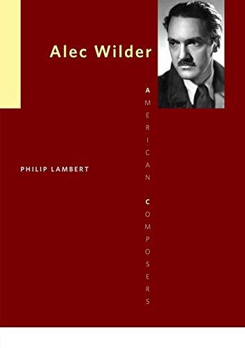 Alec Wilder -: Lambert, Philip