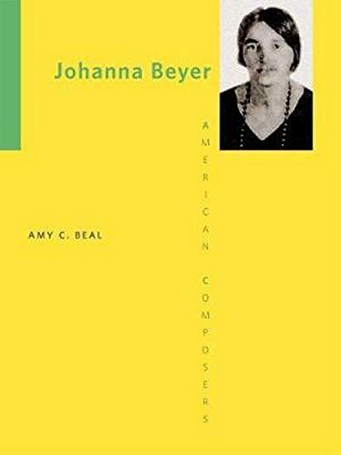 Johanna Beyer -: Beal, Amy C
