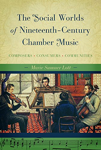 The Social Worlds Of Nineteenth-century Chamber Music: Composers, Consumers, Communities.: Lott, ...