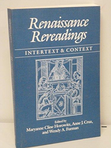 9780252060090: Renaissance Rereadings: Intertext and Context