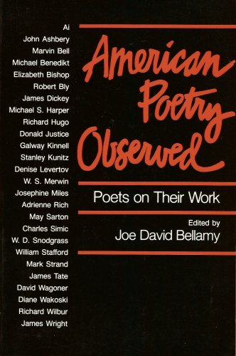 9780252060106: AMERICAN POETRY OBSERVED