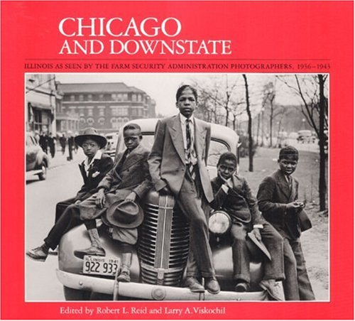 9780252060786: Chicago and Downstate: Illinois as Seen by the Farm Security Administration Photographers, 1936-1943 (Visions of Illinois)
