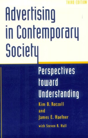 9780252065422: Advertising in Contemporary Society: PERSPECTIVES TOWARD UNDERSTANDING