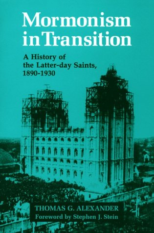 9780252065781: Mormonism in Transition: A History of the Latter-day Saints, 1890-1930