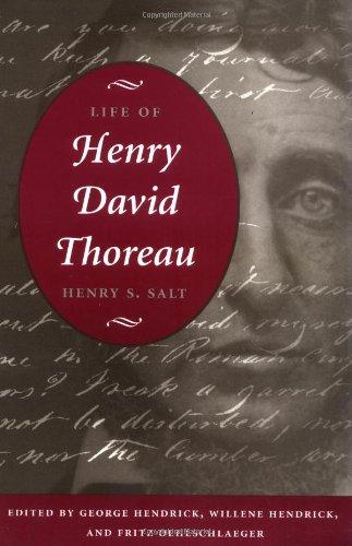 9780252069062: Life of Henry David Thoreau