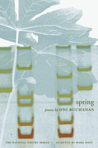 9780252075643: Spring (National Poetry Series)