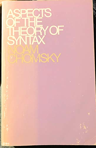 9780252530074: Aspects of the Theory of Syntax. MIT Press. 1969.
