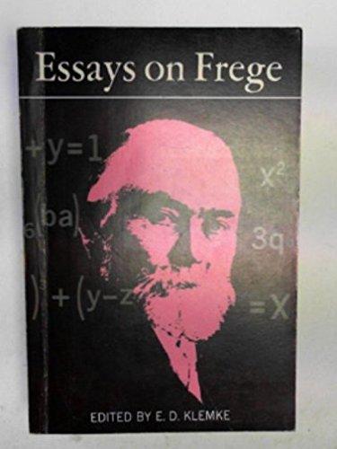 Essays on Frege (Illini books IB-54): Klemke, E.D. [Editor]