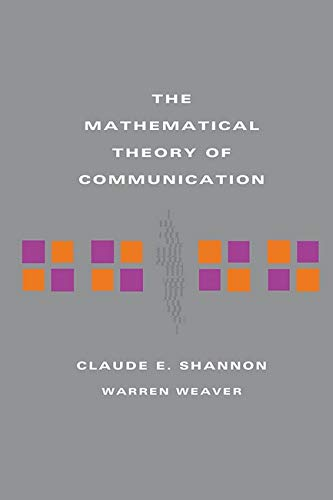 9780252725487: The Mathematical Theory of Communication