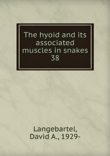 The hyoid and its associated muscles in: Langebartel, David A.