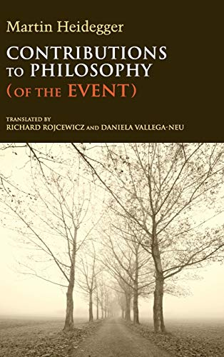 9780253001139: Contributions to Philosophy (Of the Event) (Studies in Continental Thought)