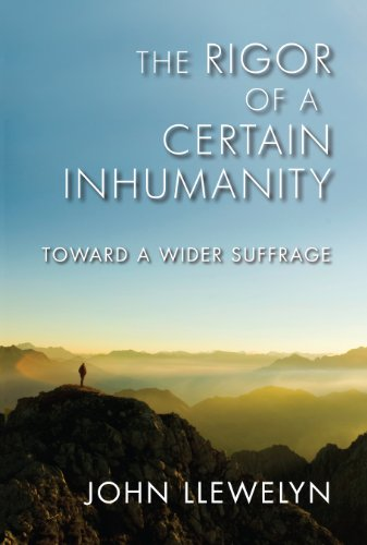 9780253003263: The Rigor of a Certain Inhumanity: Toward a Wider Suffrage