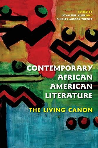 Contemporary African American Literature: The Living Canon (Blacks in the Diaspora)