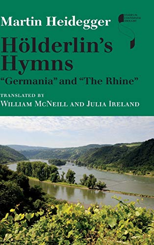 9780253014214: Hölderlin's Hymns germania and the Rhine (Studies in Continental Thought)