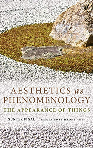 Aesthetics as Phenomenology: The Appearance of Things (Hardback): Gunter Figal