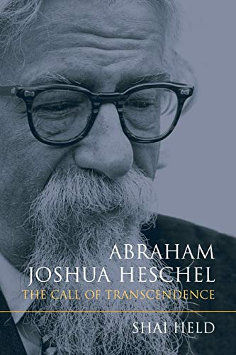 9780253017147: Abraham Joshua Heschel: The Call of Transcendence