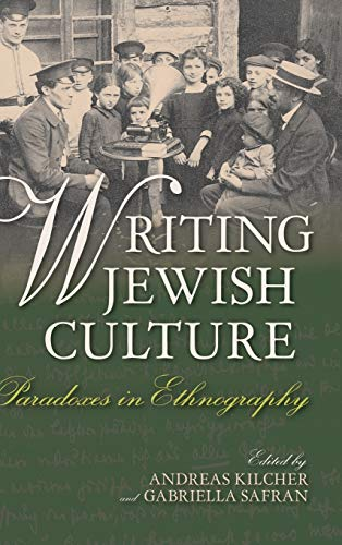 9780253019585: Writing Jewish Culture: Paradoxes in Ethnography