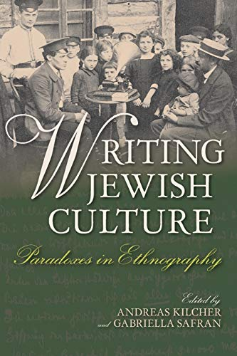 9780253019622: Writing Jewish Culture: Paradoxes in Ethnography