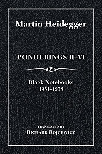 9780253020819: Ponderings II–VI, Limited Edition: Black Notebooks 1931–1938 (Studies in Continental Thought)
