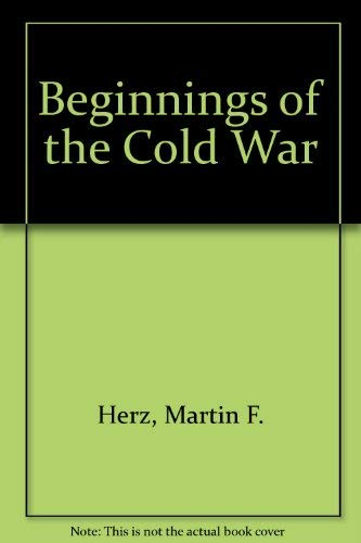 9780253105806: Beginnings of the Cold War