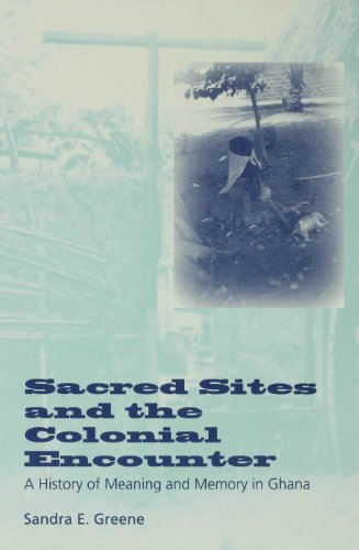 9780253108890: Sacred Sites and the Colonial Encounter