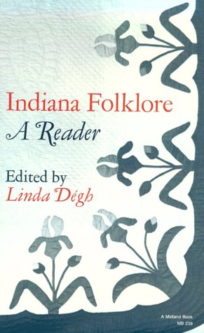 9780253109866: Indiana Folklore: A Reader