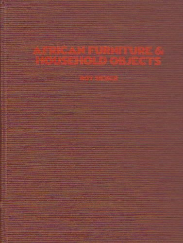 9780253119278: African Furniture and Household Objects