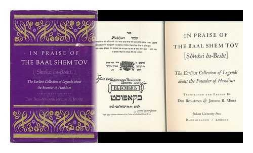 9780253140500: In Praise of the Baal Shem Tov (Shivhei ha-Besht), The Earliest Collection of Legends about the Founder of Hasidism