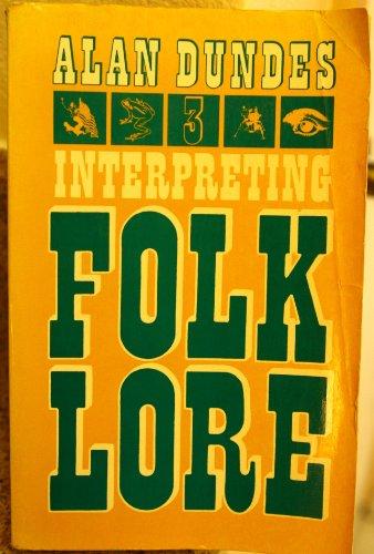 9780253143075: Interpreting Folklore