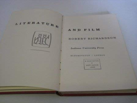 Literature and Film: Richardson, Robert