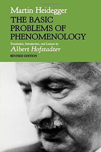 9780253176868: The Basic Problems of Phenomenology (Studies in Phenomenology and Existential Philosophy)