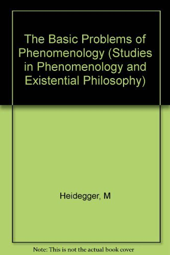 9780253176875: The Basic Problems of Phenomenology (Studies in Phenomenology and Existential Philosophy)