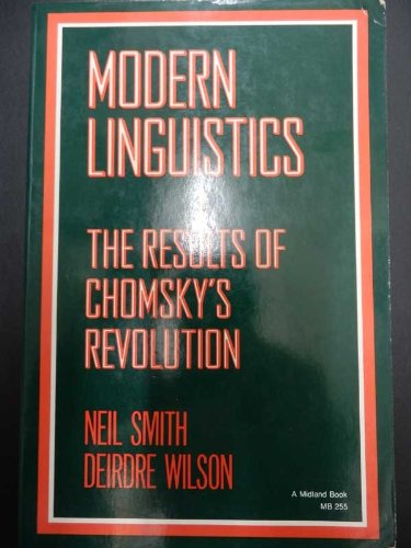 9780253194572: Modern Linguistics: The Results of Chomsky's Revolution