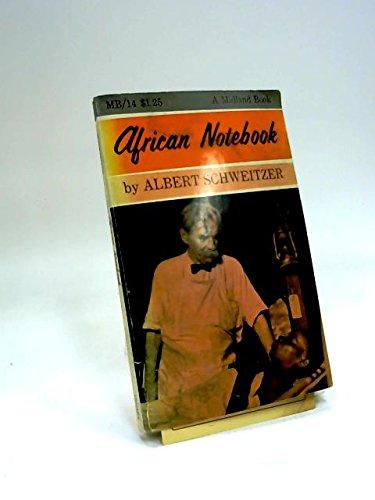 9780253200143: African Notebook