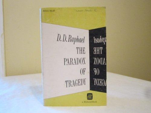 9780253200419: Paradox of Tragedy