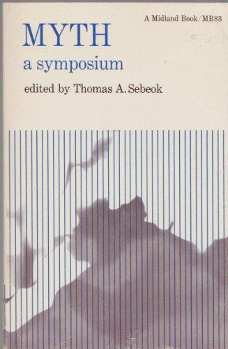 9780253200839: Myth: A Symposium (A Midland Book)