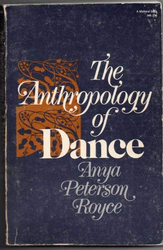 9780253202352: Anthropology of Dance