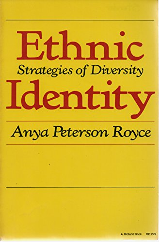9780253202796: Ethnic Identity: Strategies and Diversity (A Midland Book)