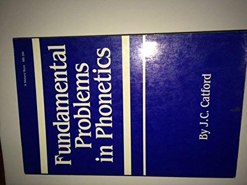 9780253202949: Fundamental Problems in Phonetics